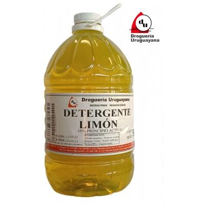 DETERGENTE LIMÓN 5L
